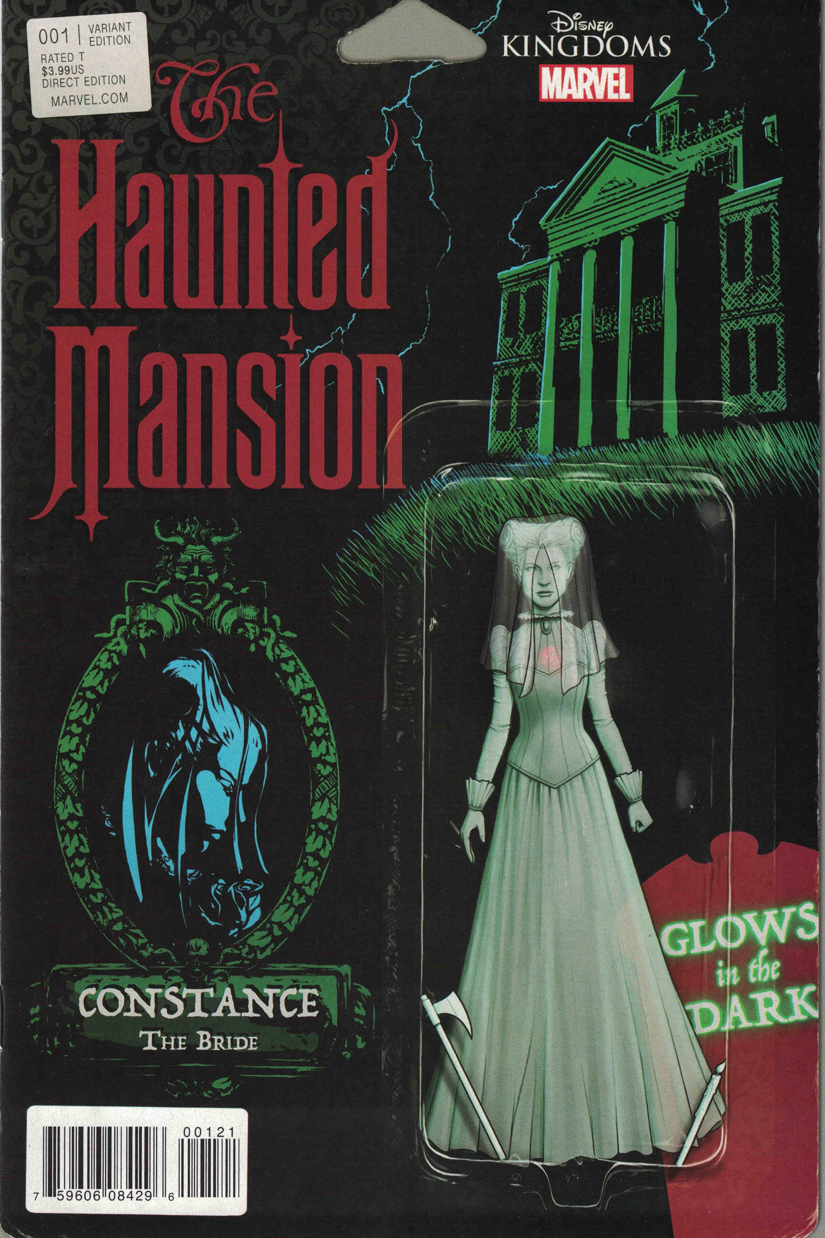 New Marvel Disney Kingdoms The Haunted Mansion #001 Variant Edition Comic Book