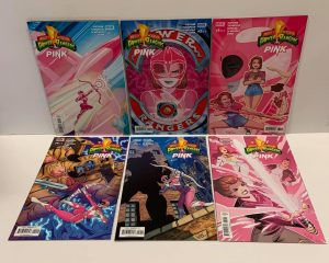 Power Rangers Pink #1-6 Complete Miniseries A Covers Boom! 2016 VF/NM