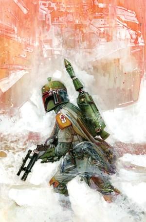Star Wars War of the Bounty Hunters Alpha #1 Tommy Lee Edwards Boba Fett Variant Log/ Virgin Set